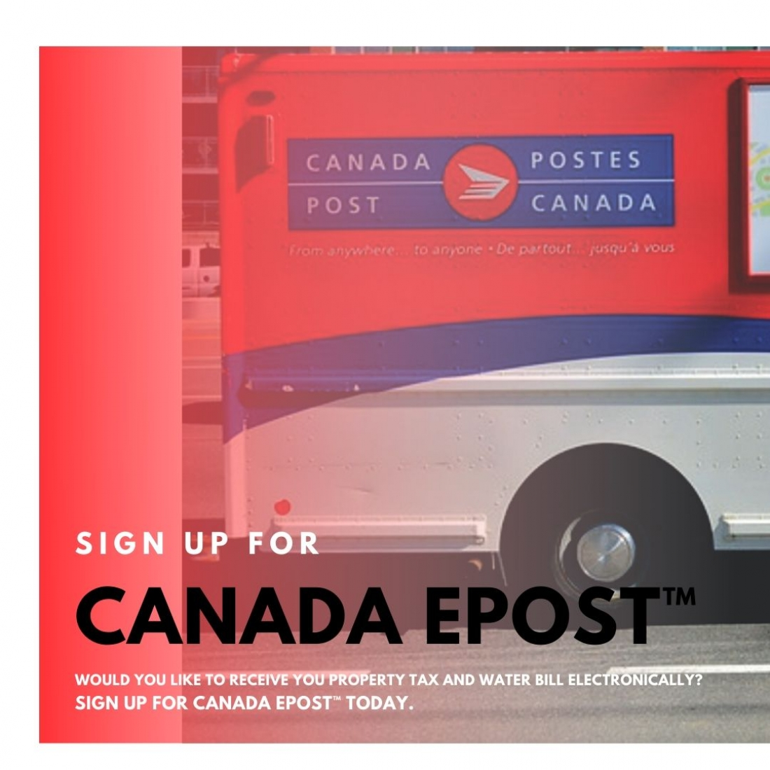 Canada Post Epost Services