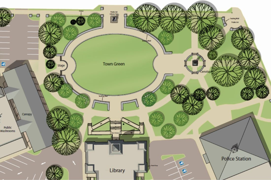 Civic Square - Sponsor a bench!