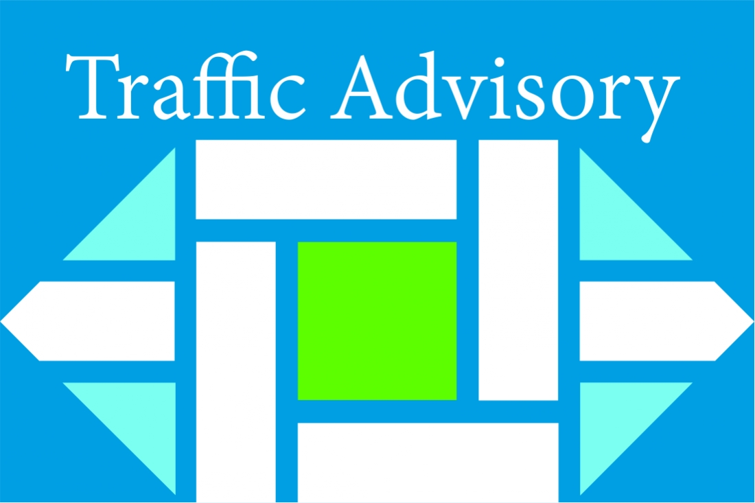 Traffic Advisory - New 4 Way Stop